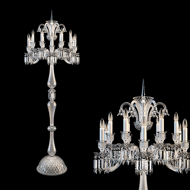 Totally crystal exclusive chandelier, great classic style